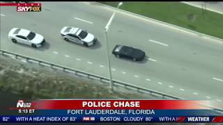 CORVETTE POLICE CHASE: Suspect Down For The Count In Florida