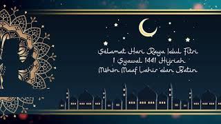 Video Hari Raya Idul Fitri 2020 untuk WhatsApp