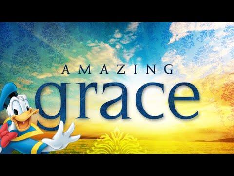 Donald Duck Voice Singing - Amazing Grace