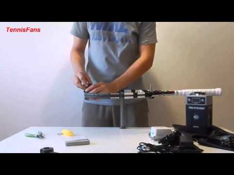 How to: String a tennis racket w/ Pro Stringer Digital Part 1 Unpacking.