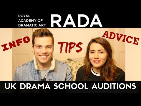 RADA Audition, Recall, & Experience | UK Drama School Tips | Informative & Chatty Video