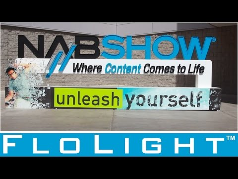 FloLight at NAB Show 2016 with New Products