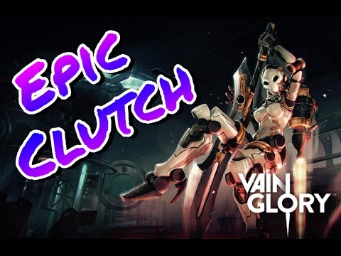Vainglory - Epic Clutch w/Alpha [CP]  [Ranked]