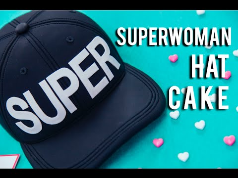 How To Make A Baseball HAT CAKE! Tie dye vanilla cake for IISuperwomanII's Birthday!