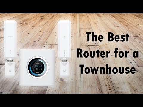 The Best Router For a Townhouse (for Maximum Range)