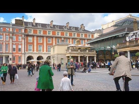 LONDON WALK | Covent Garden from Leicester Square Station | England