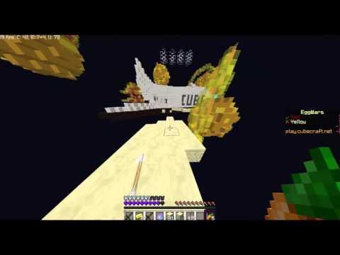 Minecraft EGG Wars Bölüm 1-Bizim adam hack çıktı I BELIVE I CAN FLY