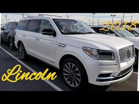 2018 Lincoln Navigator walk around