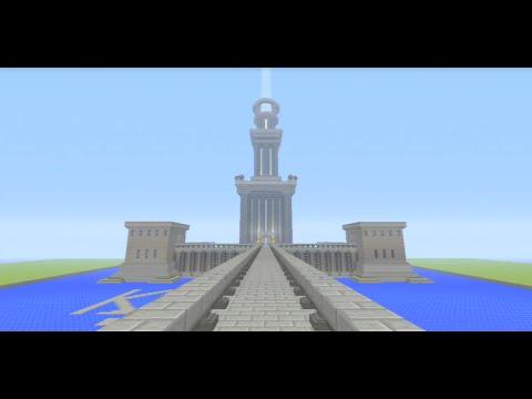 Minecraft Alexandria Lighthouse