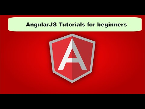 AngularJS Tutorial for Beginners - Introduction to AngularJS Course