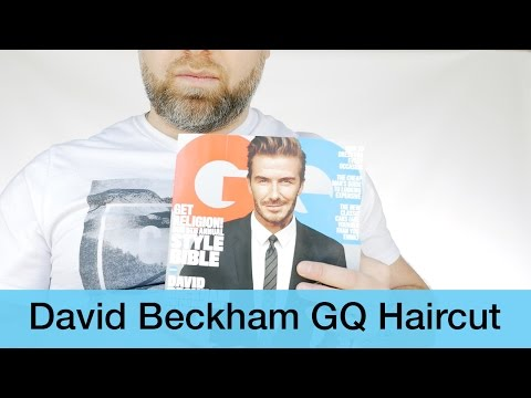 David Beckham GQ Cover Haircut - TheSalonGuy