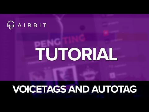 Airbit Tutorial: How to Protect Your Beats With Voicetags