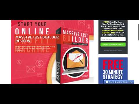 How To Build An Email List Fast 100% FREE TRAFFIC