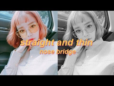 Straight and Thin Nose Bridge | Subliminal Affirmations