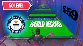 50 Level Deathrun ► World Record (5:59)