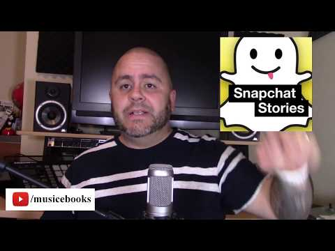 How to promote your music on Snapchat!
