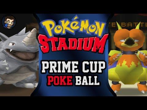 Pokémon Stadium - Prime Cup | Pokéball |