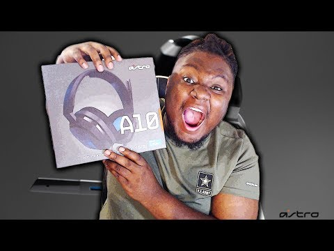 ASTRO GAMING A10 Headset REVIEW!/UNBOXING + SOUND TEST! (ONLY 60$)