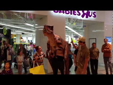 Walking with Dinosaurs at Toys-R-Us, Chadstone Shopping Centre, Victoria
