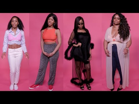 SAVAGE X FENTY BY RIHANNA LINGERIE REVIEW | 4 DIFFERENT WOMEN TRY ON THE NEW LINE!