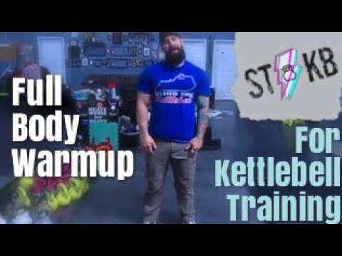 Joint Warmup  For Kettlebell Sport  with  Synovial Support