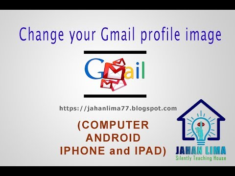 Change your Gmail profile image  COMPUTER, ANDROID,  IPHONE and IPAD