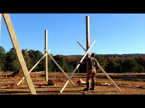 #3  Setting Posts for the Pole Barn... Part 1