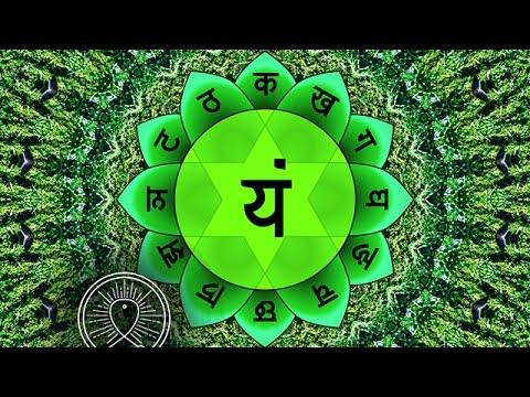 Binaural Beat Sleep Meditation: Heart Chakra ANAHATA Cleansing, Positive Energy Boost
