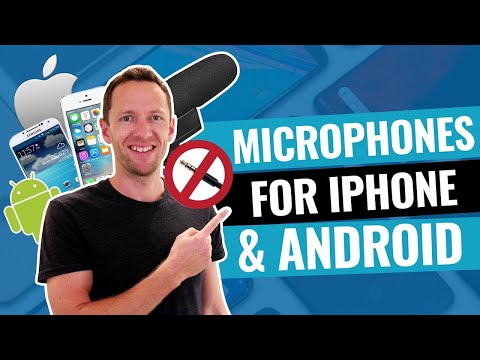Microphones for iPhone & Android (NO Headphone Jack!)