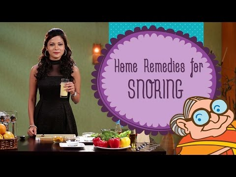 Snoring - Natural Home Remedies To Prevent Snoring - Sleep Apnea - Peaceful Sleep
