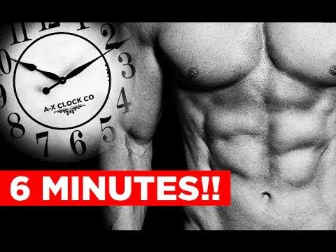 How to Get Abs - 6 MINUTES AT A TIME!!