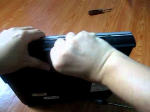 How to remove laptop Harddisk Compaq Presario 2500