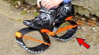 اختراع مدهش حذاء يساعد على الجري و سريع جدا