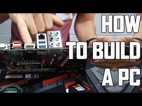 HOW TO BUILD A PC: Step By Step Easy Guide (DINO PC) Part 1