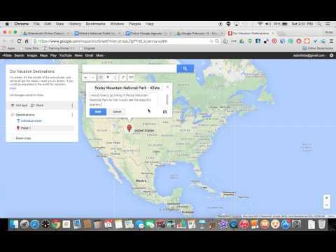Editing Google Maps