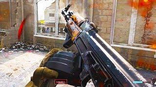 NEW Modern Warfare AK-47 w/ DRUM MAG Multiplayer Gameplay