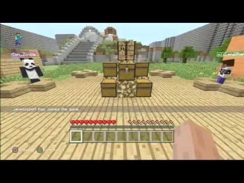 Minecraft  PS3 Tutorial Hunger Games by Jay416