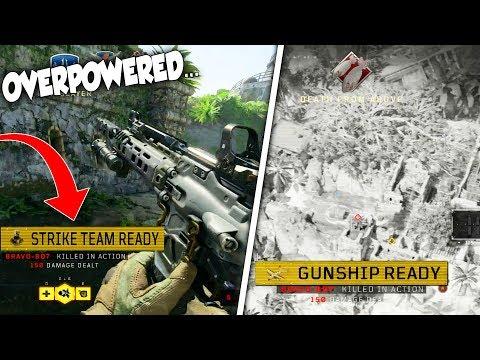 USING THE HIGHEST SCORESTREAKS in BLACK OPS 4...(Strike Team & GunShip / AC-130 Gameplay) + NEW MAP!