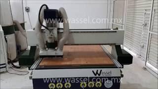 Corte De Material En Router Cnc Wassel