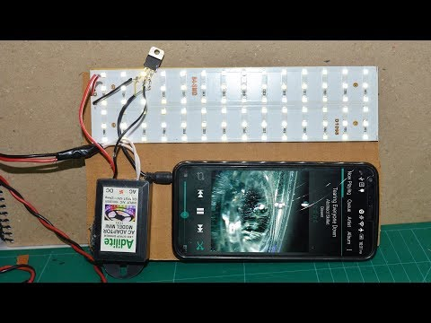 How to Make Music reactive LED Light at home