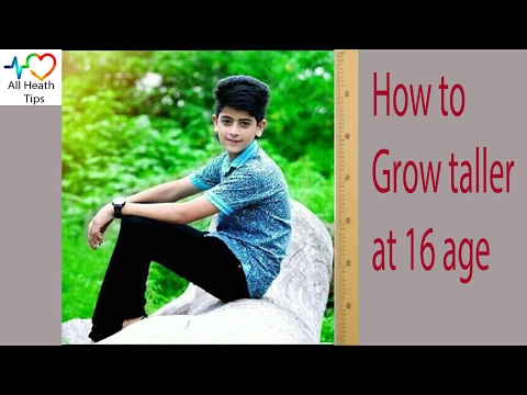 How to Grow Taller at 16