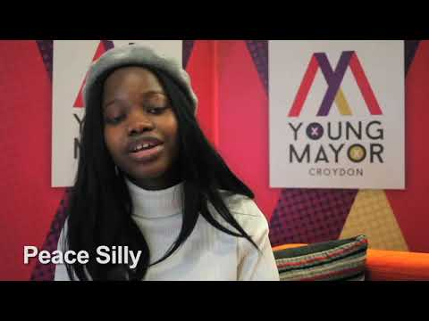 Croydon Young Mayor candidate - Peace Silly