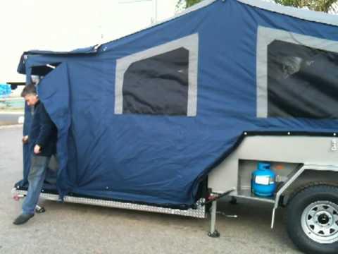 Setting Up Hard Floor Camper Perth