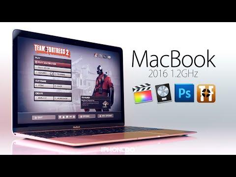 MacBook 1.2GHz —Photoshop - Logic Pro X - Final Cut Pro X & Team Fortress 2 [4K]