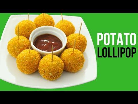 Potato Lollipop Recipe | Potato Balls | Snacks For Kids | Aloo Snacks | Homemade Potato Lollipop