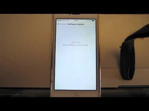 iPhone Update/Network Settings Reset