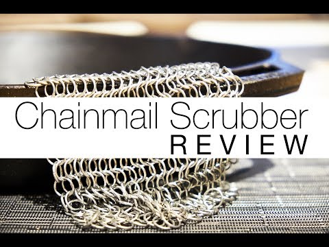 Cast Iron Chainmail Scrubber Review