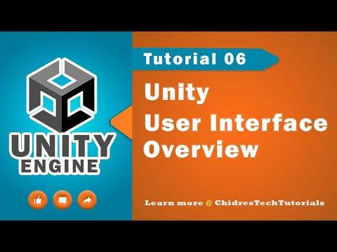 Unity Essentials Tutorial 06 - Unity User Interface ( UI )