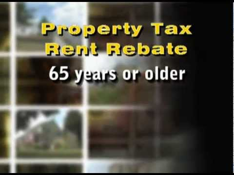 Property Tax/Rent Rebate Applications Now Available