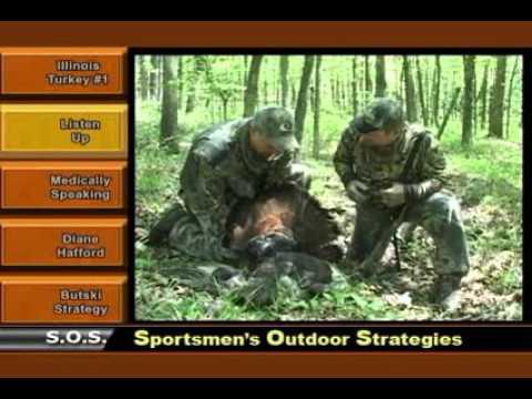 Sportsmen's Outdoor Strategies - Bob Walker's Illinois Eastern Wild Turkey Hunt at Rocky Branch